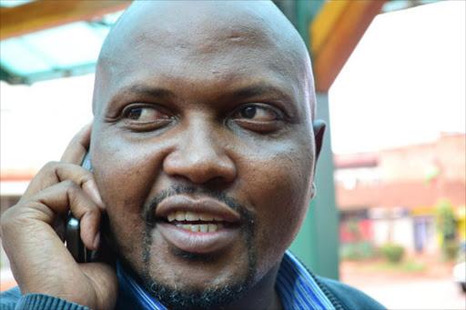 Gatundu South MP Moses Kuria.