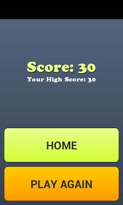brick game - screenshot