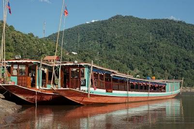 Am Mekong in Pak Beng