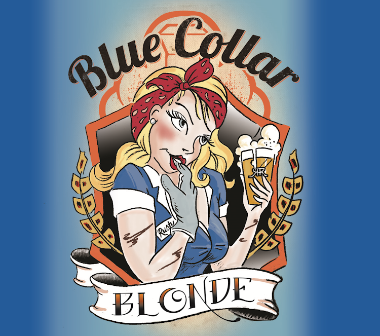Logo of Blue Collar Blonde Ale