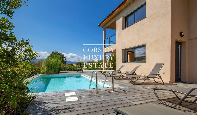 Maison contemporaine avec jardin et terrasse Porticcio