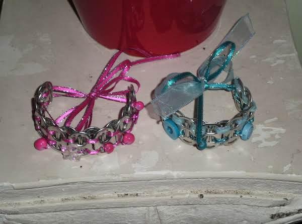 Coke Tab Bracelets