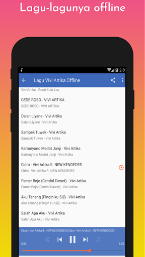Lagu Vivi Artika Offline screenshot 10