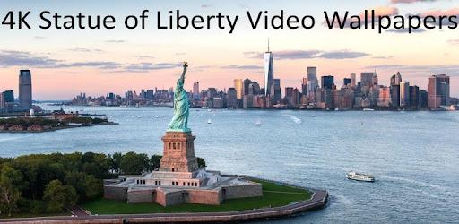 4k Statue Of Liberty Video Wallpaper Aplicaciones En