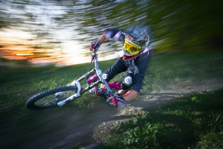 Sunset downhill di andyvision