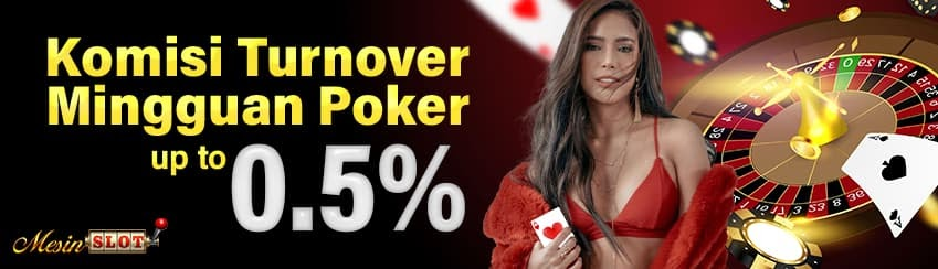 Bonus Turnover 0.5% Poker