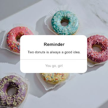 Donut Reminder - Video Template