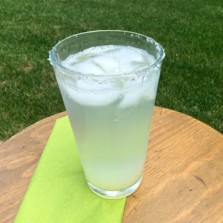 Tequila Lime Spritzers.
