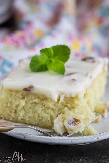 Blonde Texas Sheet Cake with Pecans