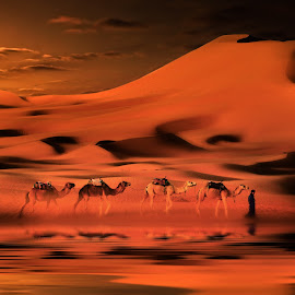 merzouga 2582 by Moussa Idrissi - Digital Art Places