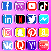 All in one social media and social network app