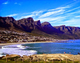 Photo: Maiden's Cove, with part of Table Mountain.