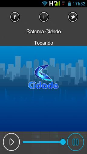 Rádio Sistema Cidade screenshot 1