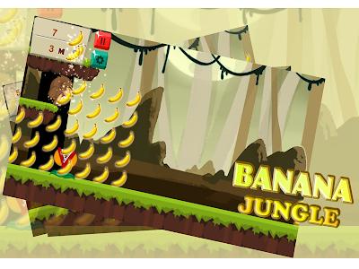 Banana Jungle Kong Run screenshot 4