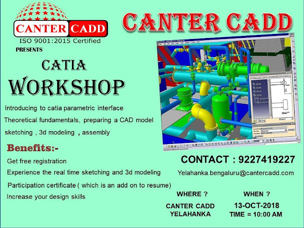 🎓 CANTER CADD- AutoCAD/Staadpro/Revit MEP/Ansys/Proe/3DsMax