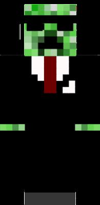 a creeper dressed up