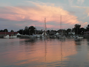 Photo: Sunset from anchor
