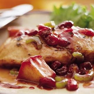 Apple-Cranberry-Sage Chicken.