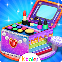 Makeup Kits Cake for girls & Cosmetic Cookie Maker icon