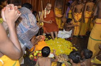 Photo: Guru Purnima, Chathurmasya Deeksha Starts (Divya Saketham, AP, India - 2012 July 3)