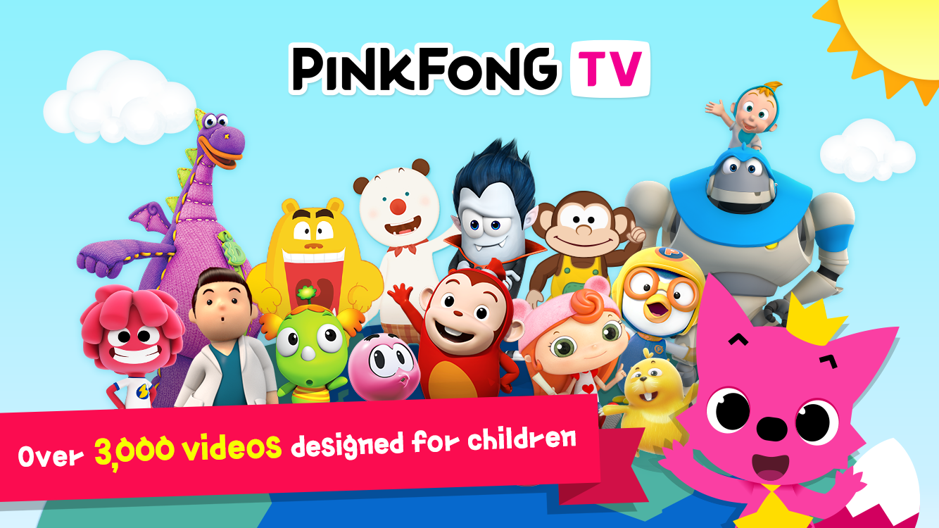 pinkfong tv kids baby videos android apps on google play