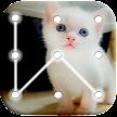 Kitty Cat Pattern Lock Screen APK
