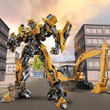 Grand Excavator Robot Transforming City Fighter 3D