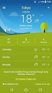 Sony Xperia Weather App 1