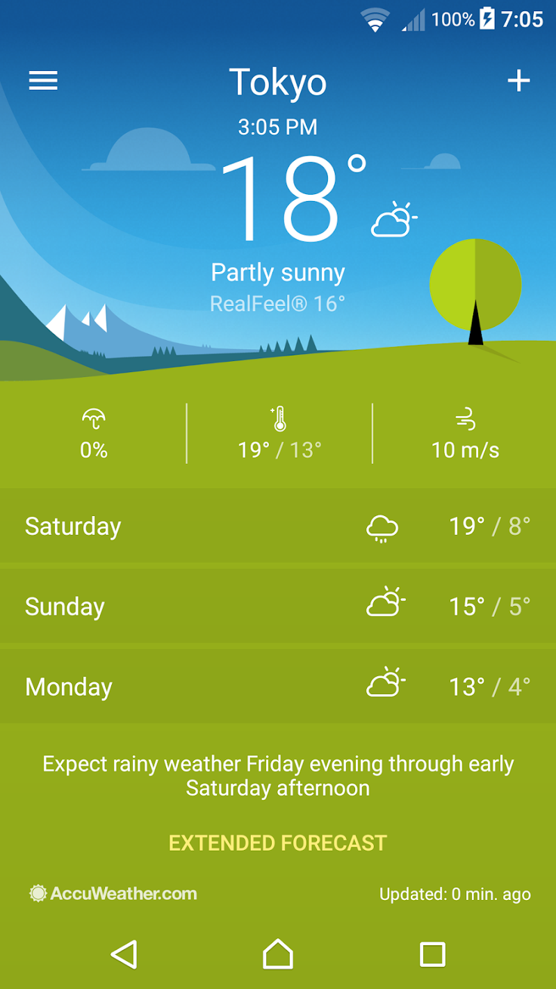 Weather Screenshot 0
