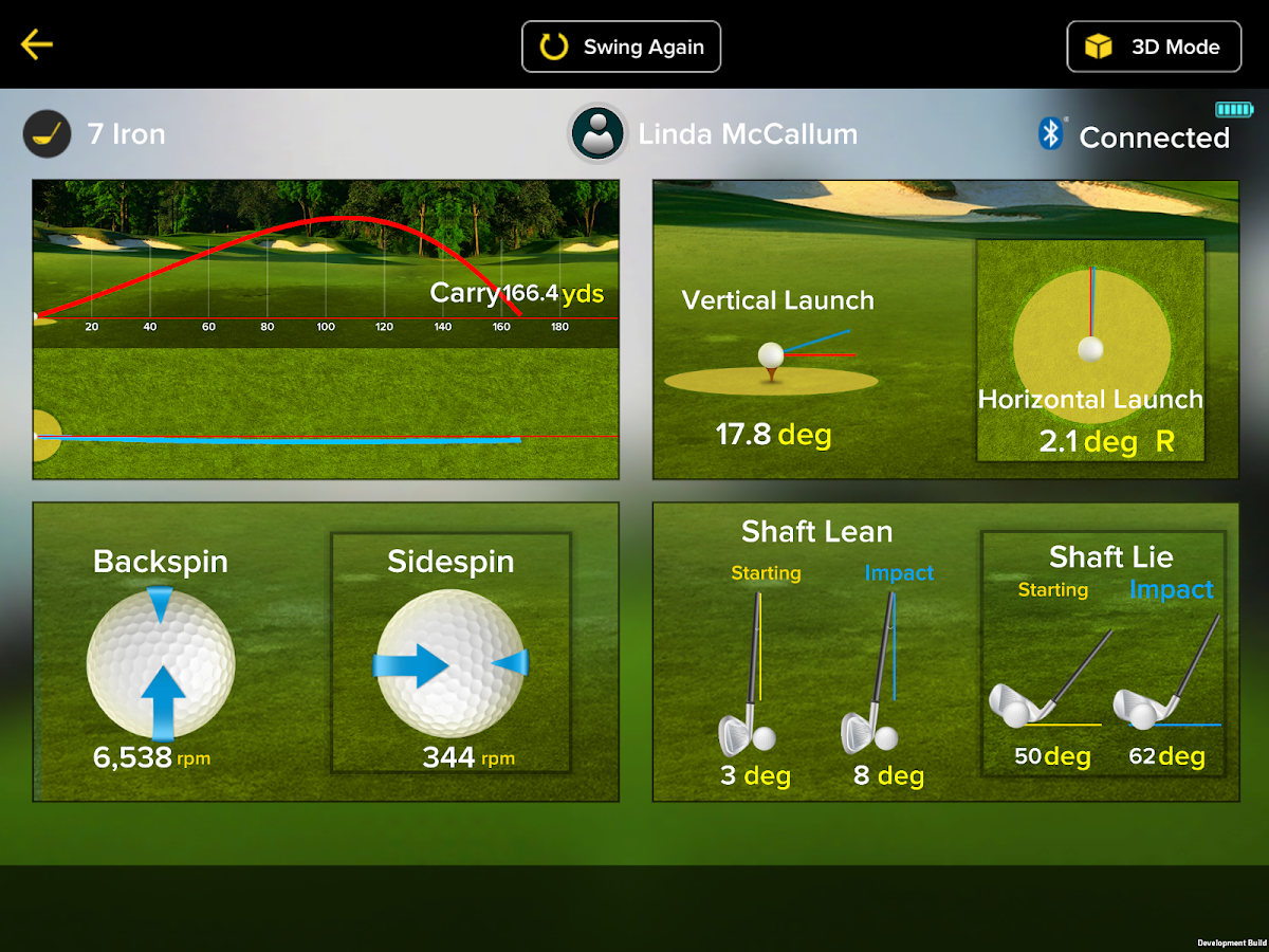 iTrainerGolf- screenshot