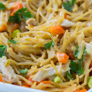 Baked Chicken With Noodles Recipes.