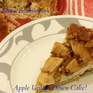 Apple Upside Down Cake! Recipe
