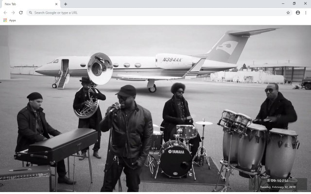 The Roots New Tab & Wallpapers Collection