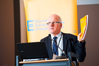 Photo: Jozef de Witte, Chair of Equinet Board and the Director of the Centre for Equal Opportunities and Opposition to Racism (Belgium)
