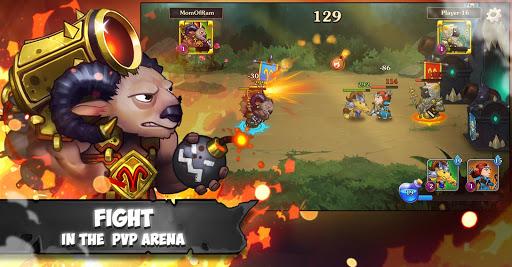Battle Rams: Clash Of Castles ACTION RPG MOBA  captures d'écran 2