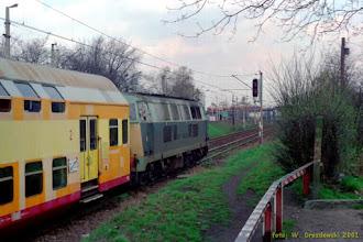 Photo: SU45-129 {szlak Toruń Miasto - Toruń Wschodni; 2001-04-06}