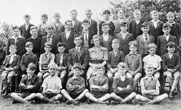 Photo: Wateringbury School 1944/1945