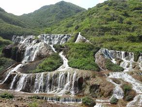 Photo: Golden Waterfall, near Jiufen