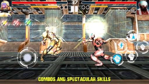 格鬥遊戲復仇者鋼
