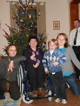Photo: 25 XII 2010 roku  - z dzieciakami przy choince