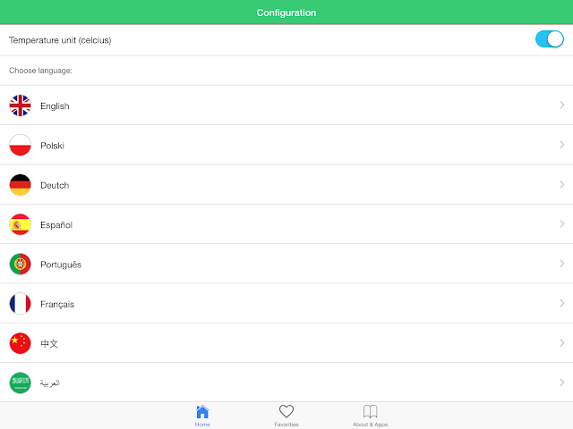 android USA météo prévisions climat Screenshot 9