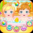 Newbown twins baby game APK