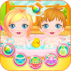 Newbown twins baby game for PC and MAC