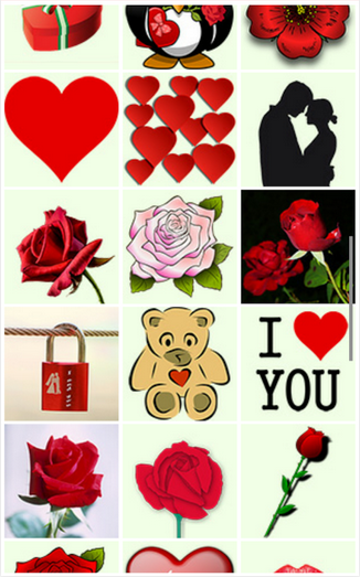 Stickers For Facebook Valentine Special Android Apps