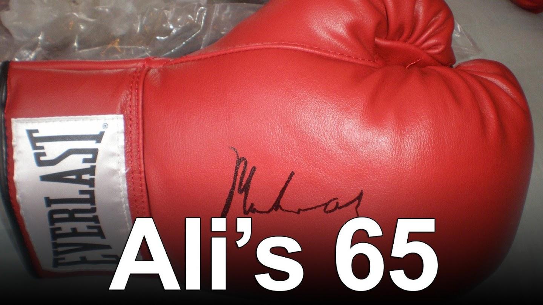 Watch Ali's 65 live