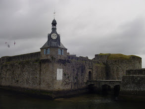 Photo: The Ville Close is the fortified old town on a rocky island a few meters off the coast.