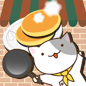 Pancake shop of cat
