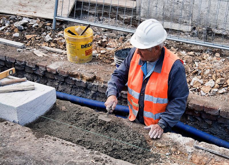 La strada in costruzione di Fiorenza Aldo Photo