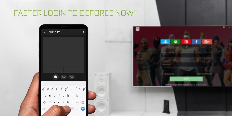 NVIDIA SHIELD TV Android App Screenshot