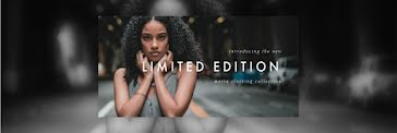 Maria Clothing Collection - Twitter Header Template